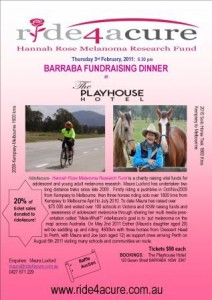 The Play House Hotel Fundraiser Dinner/Auction Poster 2011