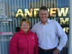 Andrew Stoner MP and Maura Luxford Kempsey 9 April 2010